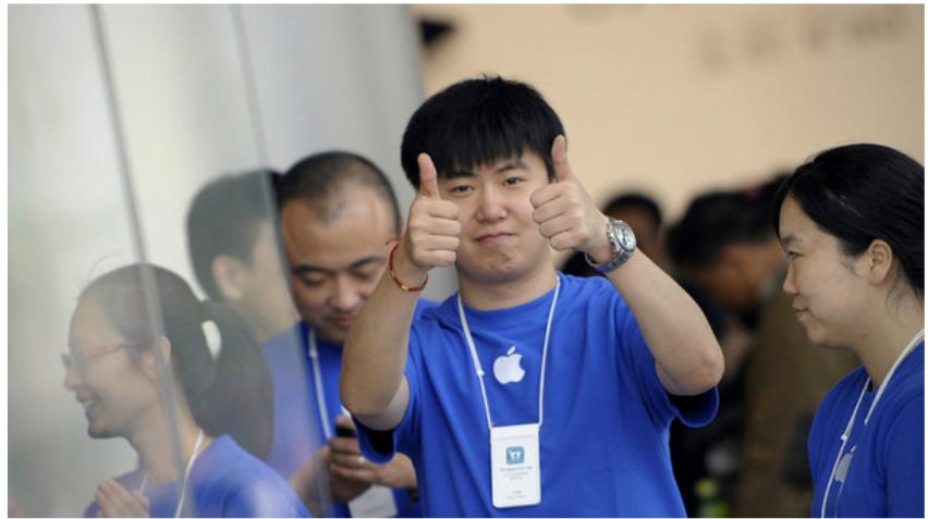 Тим Кук: главный рынок для Apple — Китай
