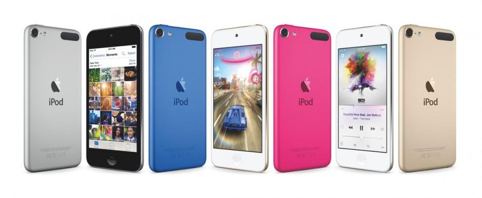 Как обновили линейку iPod