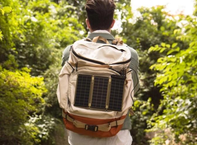 Solar Paper для зарядки вашего смартфона