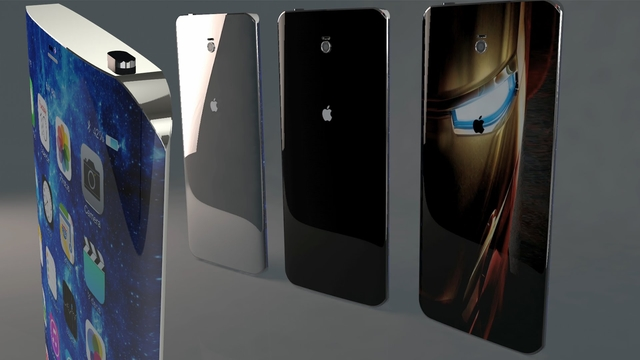Концепт iPhone 7 в стиле Samsung Galaxy S6 Edge