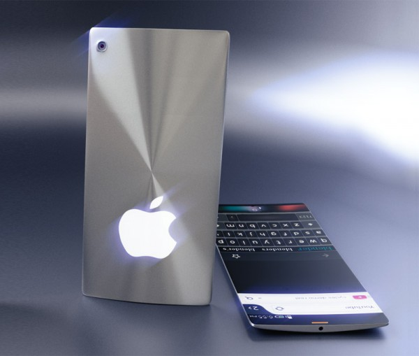 Концепт iPhone 7 в тонком хромированном корпусе