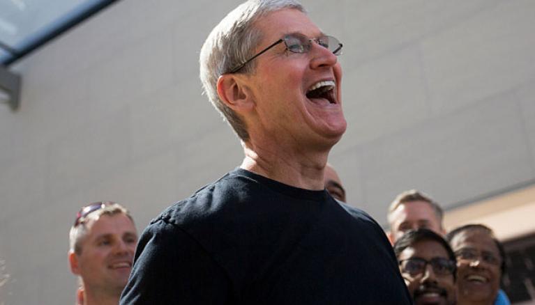 Apple собрала 92% выручки с рынка смартфонов