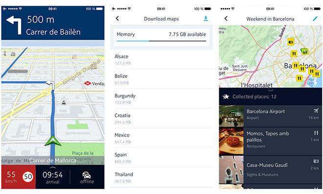 Карты Nokia Here купят немецкие автомобильные компании