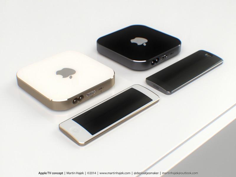 Apple TV - четвертая по популярности телевизионная приставка в США