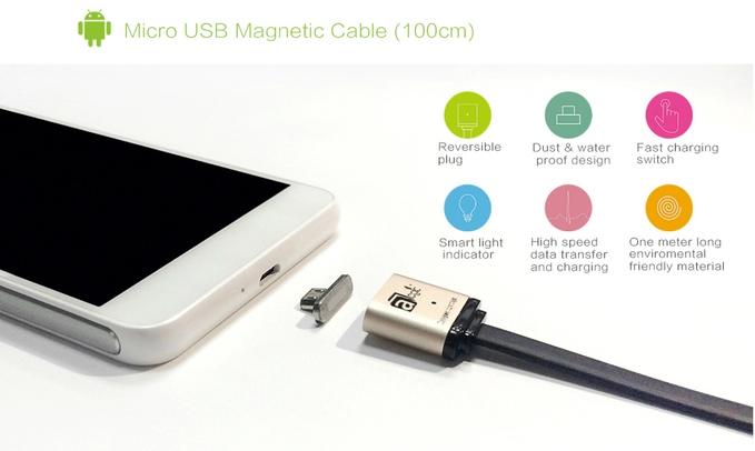MagCable – оригинальный кабель Lightning для iPhone