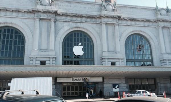 В Билл Грэхем Цивик Аудиториум всё готово к iPhone Event 2015