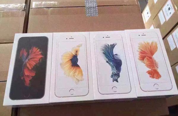 В сети появились фотографии вариантов упаковки iPhone 6s