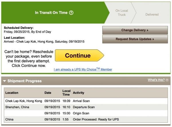 Из Китая в США отправлена первая партия iPhone 6s и 6s Plus