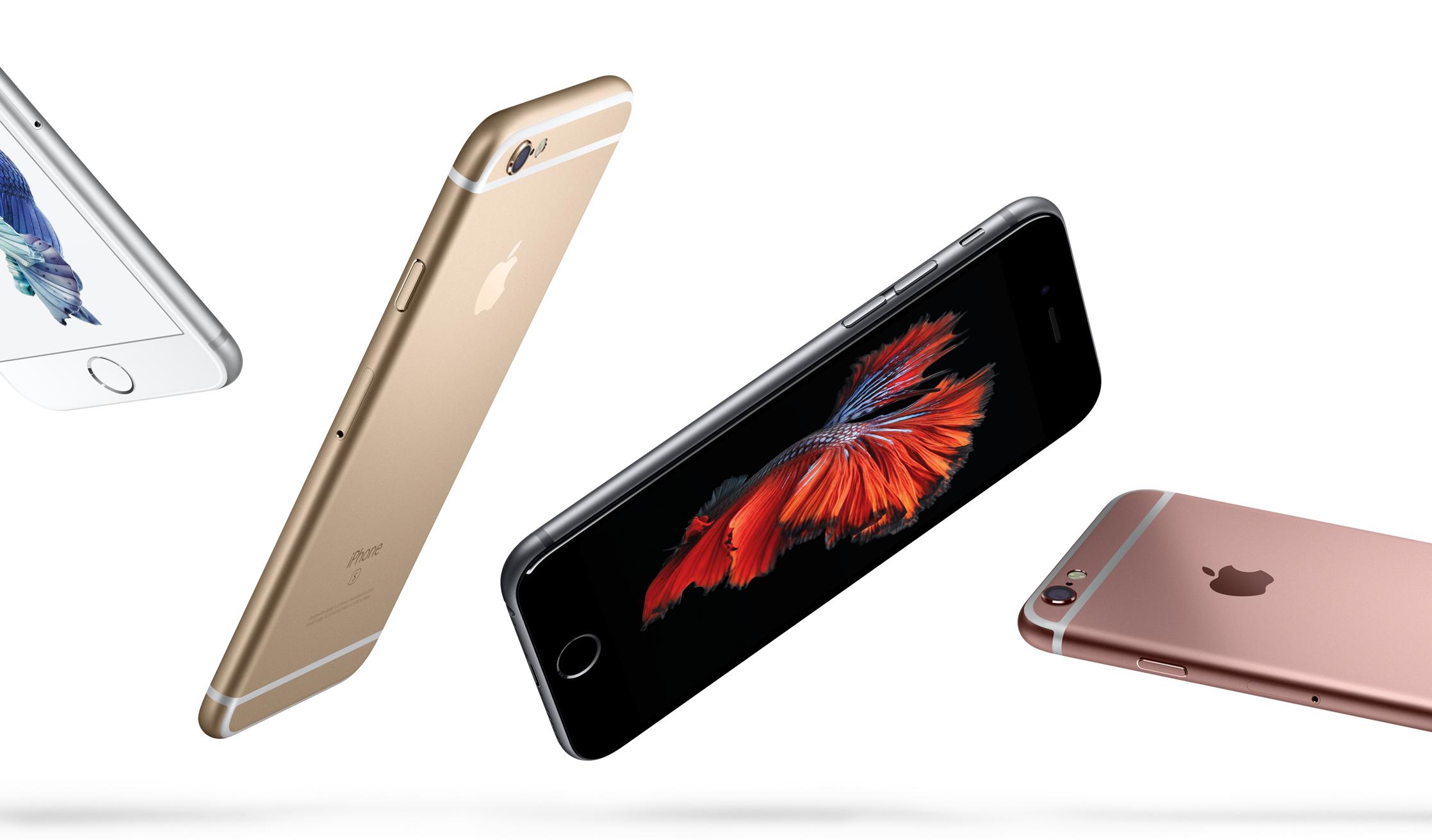 iPhone 6s и 6s Plus весят больше в основном за счет технологии 3D Touch