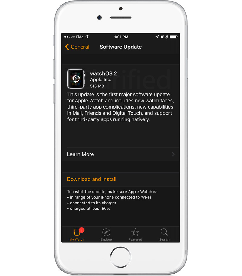 Apple закончила работу над watchOS 2
