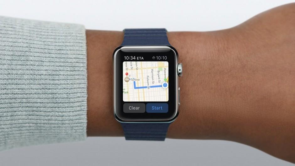 Google Maps обзавелись поддержкой Apple Watch