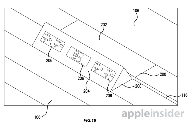 Новый патент от Apple получил название «Стол с электрическими портами»