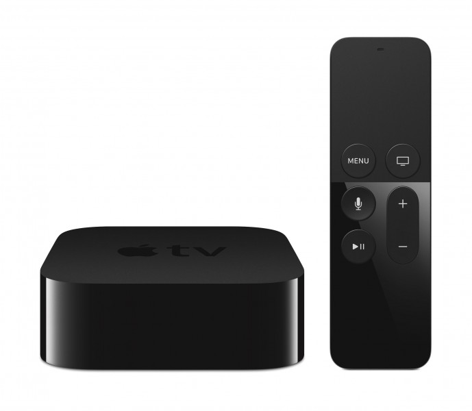 Новая Apple TV обзавелась рейтингами ТОП приложений