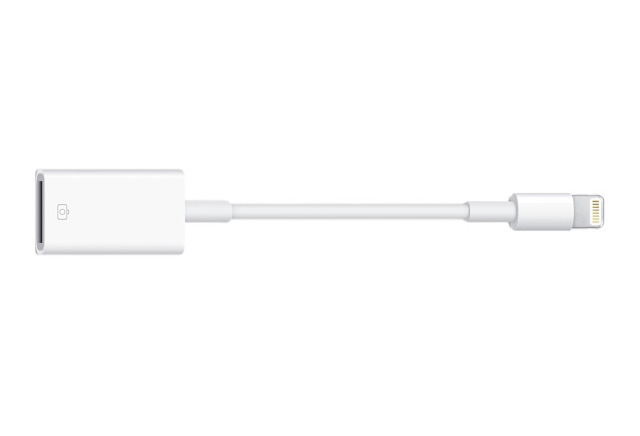 Lightning-USB Camera Adapter теперь официально совместим с  iPhone