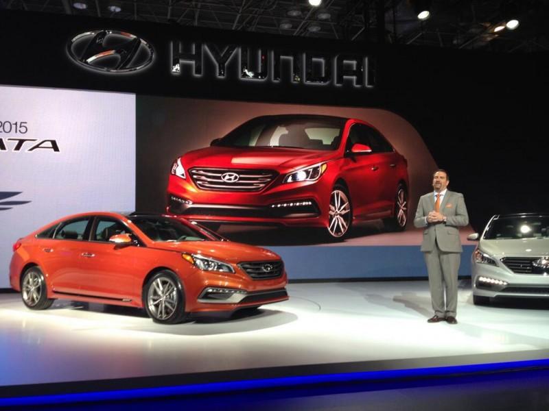 Hyundai-Sonata с поддержкой CarPlay выйдет в первом квартале 2016 года