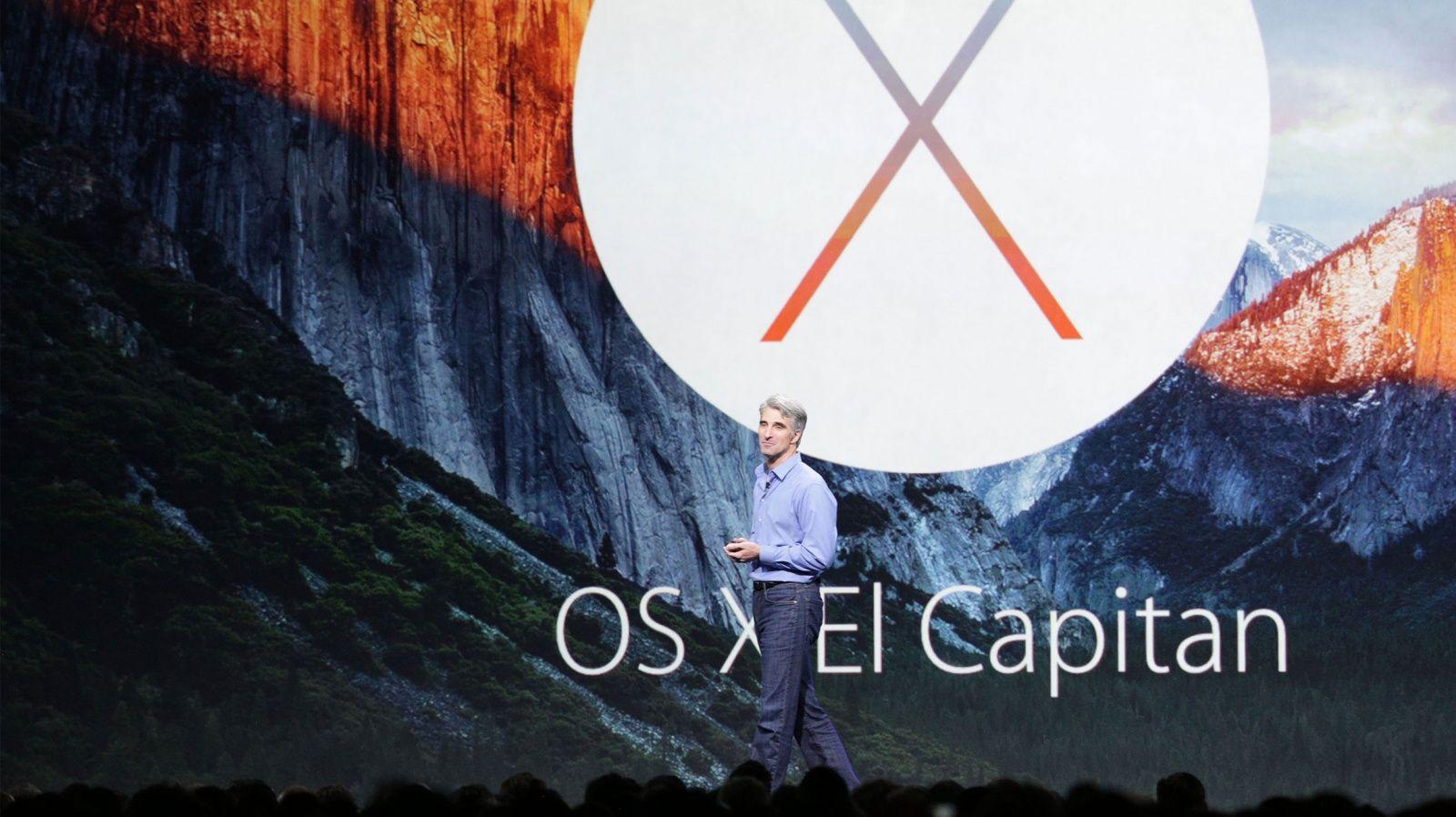 Вышла вторая бета OS X 10.11.3 El Capitan для разработчиков