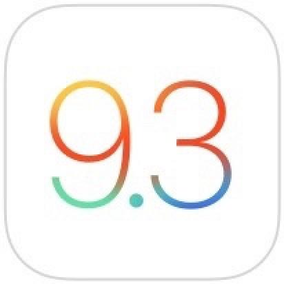 Apple выпустила третью бета версию iOS 9.3 для разработчиков