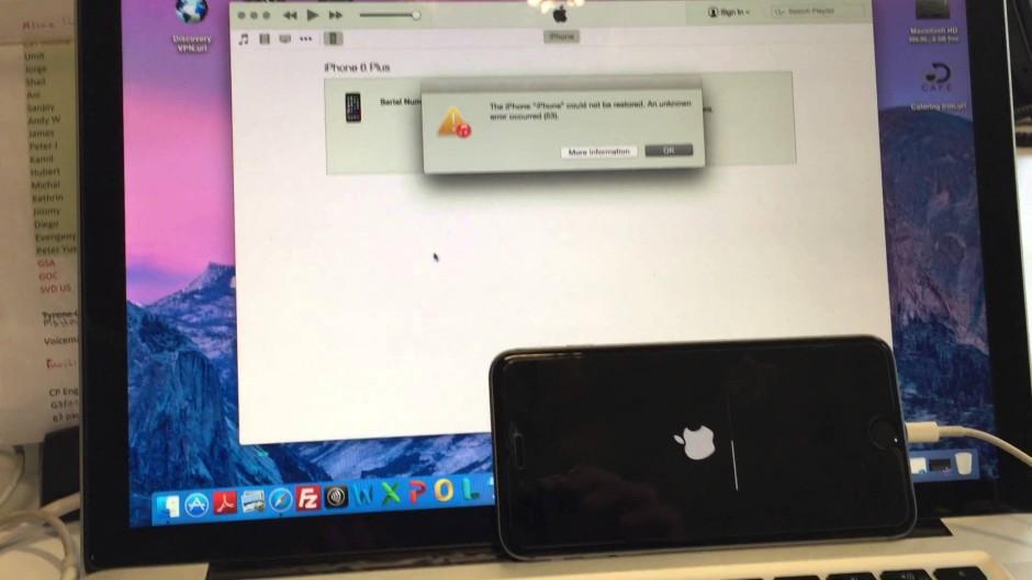 Apple выпустила версию прошивки iOS 9.2.1 для исправления устройства  с 'Ошибкой 53'