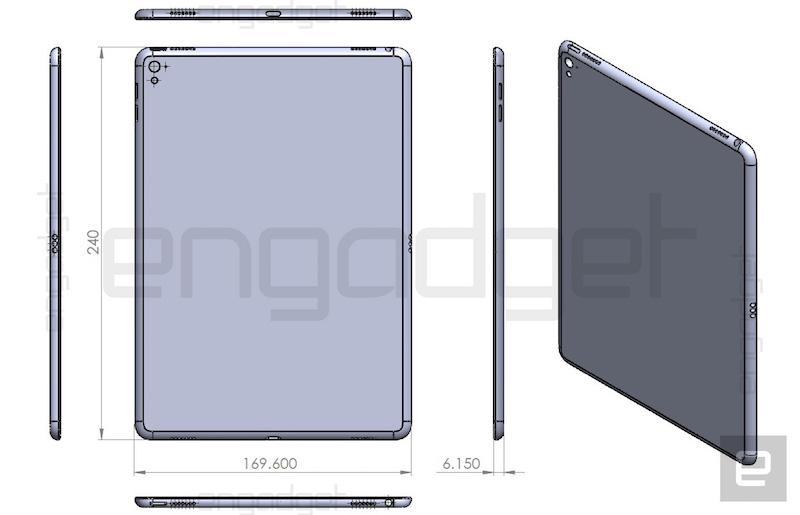 Вместо iPad Air 3 Apple возможно представит iPad Pro 9.7′