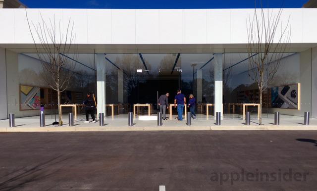 Apple Store 'следующего поколения' открылся в Мемфисе