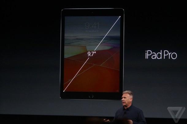 Apple выпустила 9.7 дюймовый iPad Pro