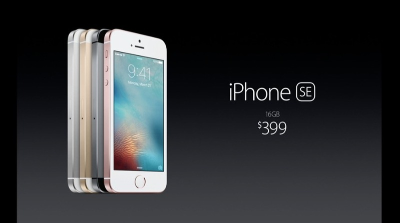 Себестоимость iPhone SE стартует от 160$