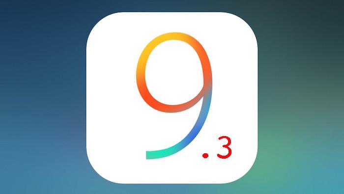 Apple выпустила третью бета iOS 9.3.2 для разработчиков
