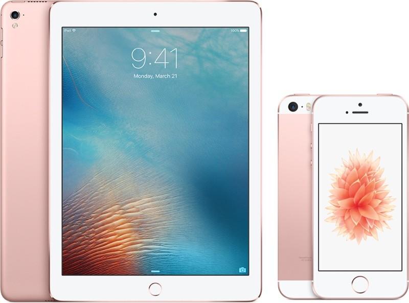 iPhone SE и 9.7дюймовый iPad Pro доступны для заказа