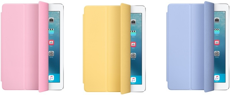 iPad Air 2 Smart Cover не рекомендуют для 9.7 дюймового iPad Pro