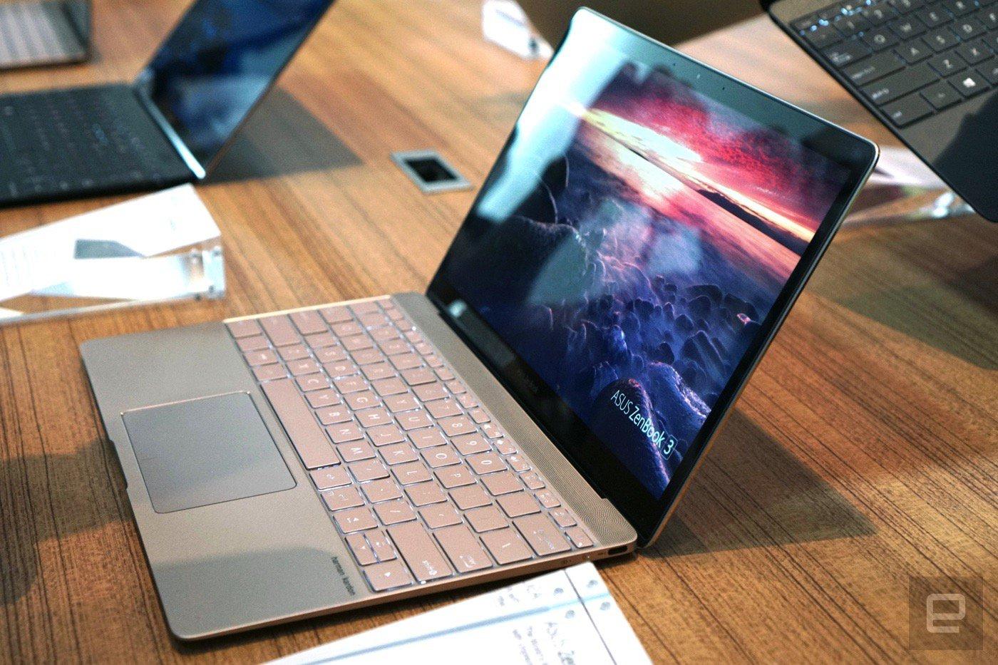 Asus анонсировала ZenBook 3