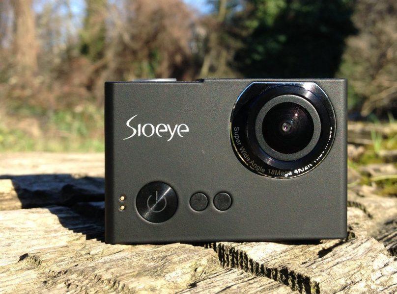 Sioeye экшен-камера позволяет транслировать потокове видео через LTE