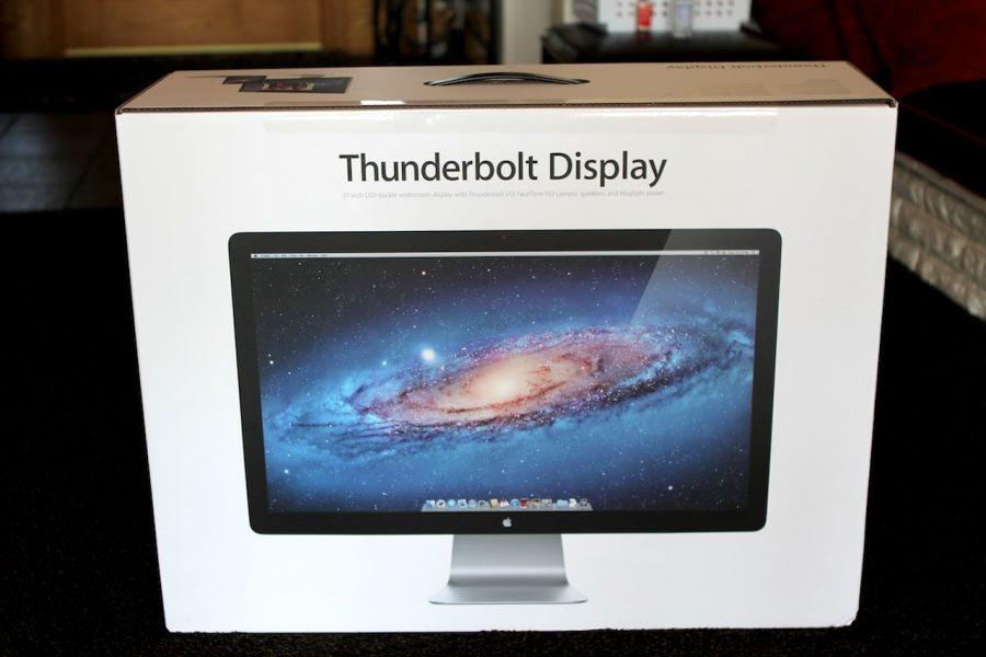 Apple Thunderbolt Display уходит на покой, замены ему не объявлено