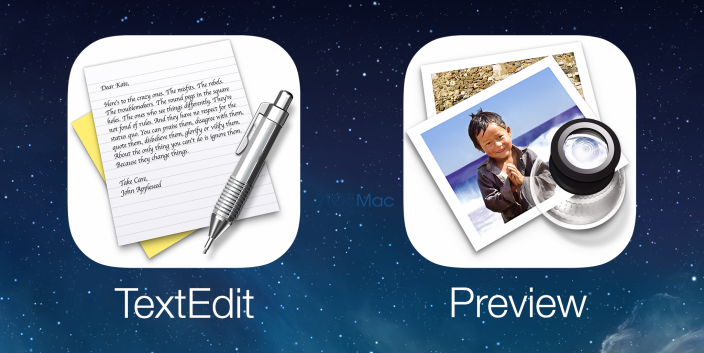 Иконка TextEdit засветилась в iOS 10 на WWDC 2016 Demo