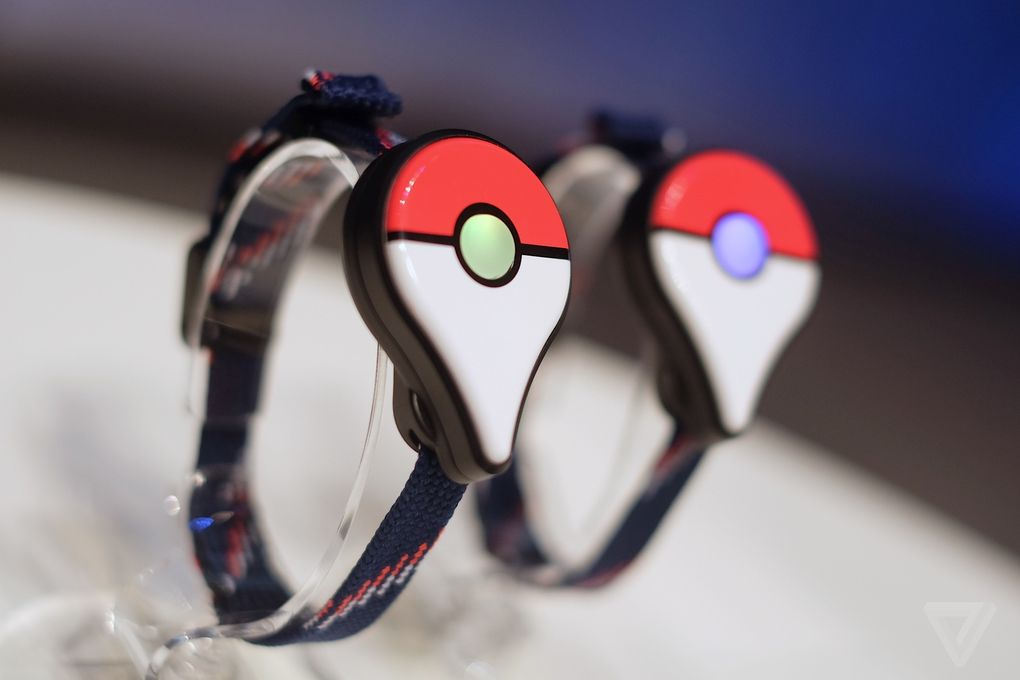 'Pokémon Go Plus' носимый браслет за 250$???
