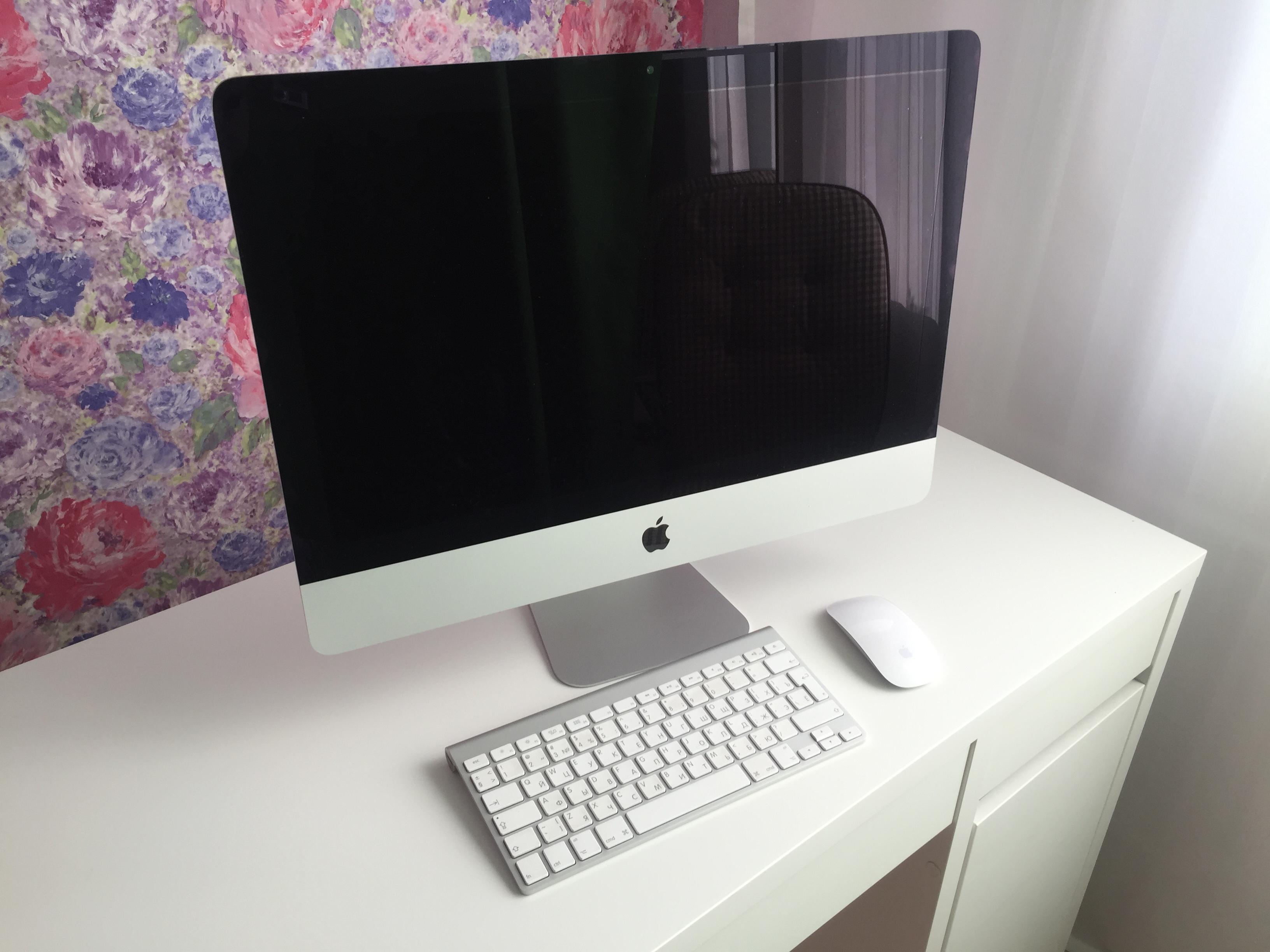 Новое видео на нашем канале: Обзор iMac 21.5 ME086RU/A (конец 2013 года)