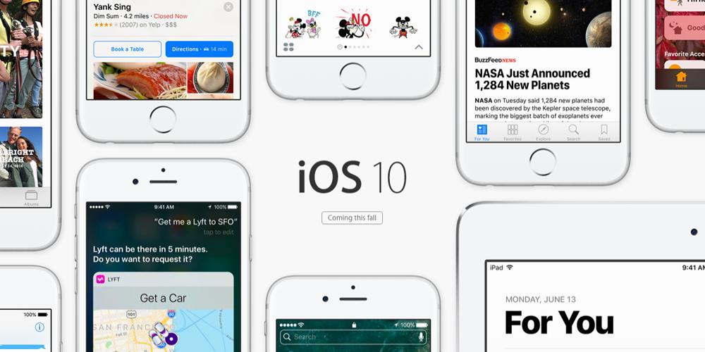 Apple выпустила первую бета iOS 10.1 для разработчиков