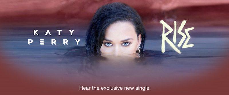Эксклюзивный сингл 'Rise' предстоящей Олимпиады в Рио от Katy Perry дебютировал в Apple Music