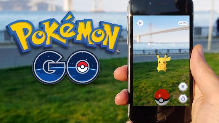 Вышло обновление 'Pokemon Go'