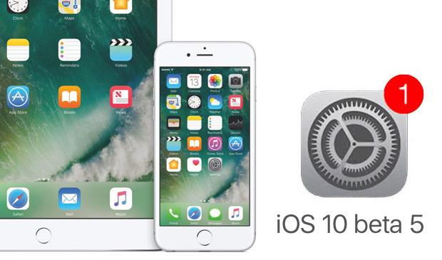 Apple выпустила пятые бета версии iOS 10, macOS Sierra, tvOS 10 и watchOS 3