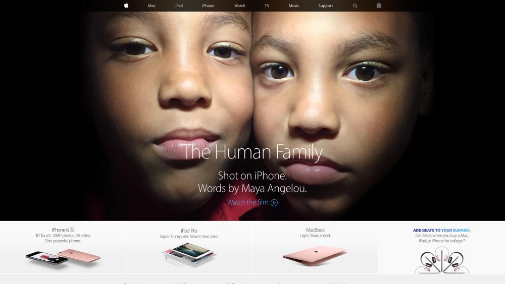 Новая реклама Apple для Олимпиады 2016 в Рио