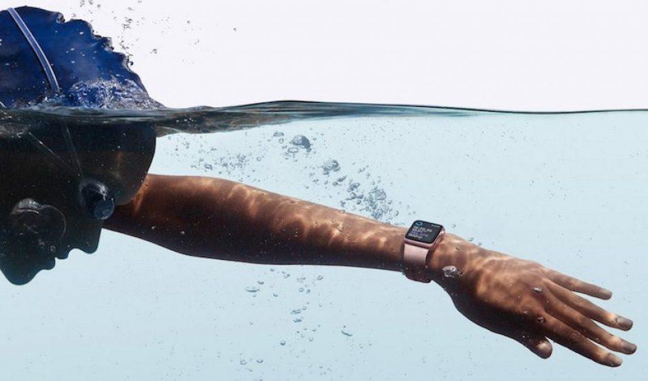 Очередной рекламный ролик «Go Swim» для часов Apple Watch