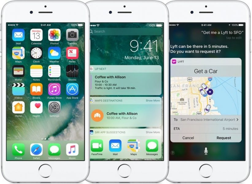 Apple выпустила четвертую бета iOS 10.2.1 для разработчиков и публичных бета-тестеров