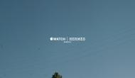 Первое рекламное видео для Apple Watch Series 2 Hermès