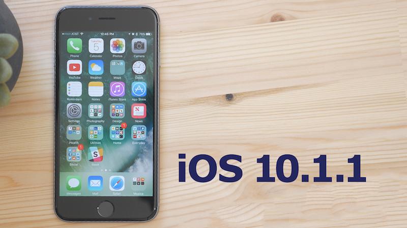 Apple перестала подписывать iOS 10.1 и iOS 10.1.1