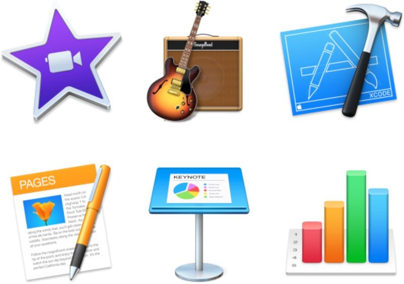 Apple обновила iMovie, GarageBand, Xcode и iWork с поддержкой MacBook Pro Touch Bar