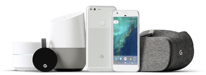 Google анонсировал Pixel Phone, Smart Home Hub и многое другое