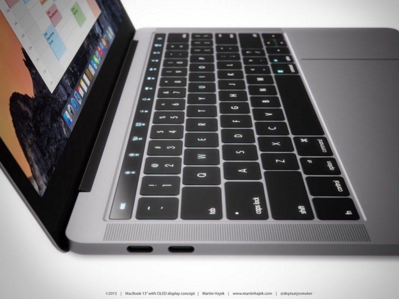 Новый Mac Book Pro запланирован на октябрь USB-C Mac Book Air также в работе