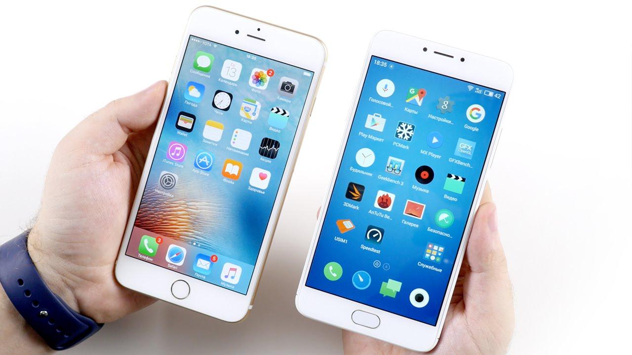 Новое видео на нашем YouTube канале: Сравнение Touch ID Meizu M3s mini и iPhone 6