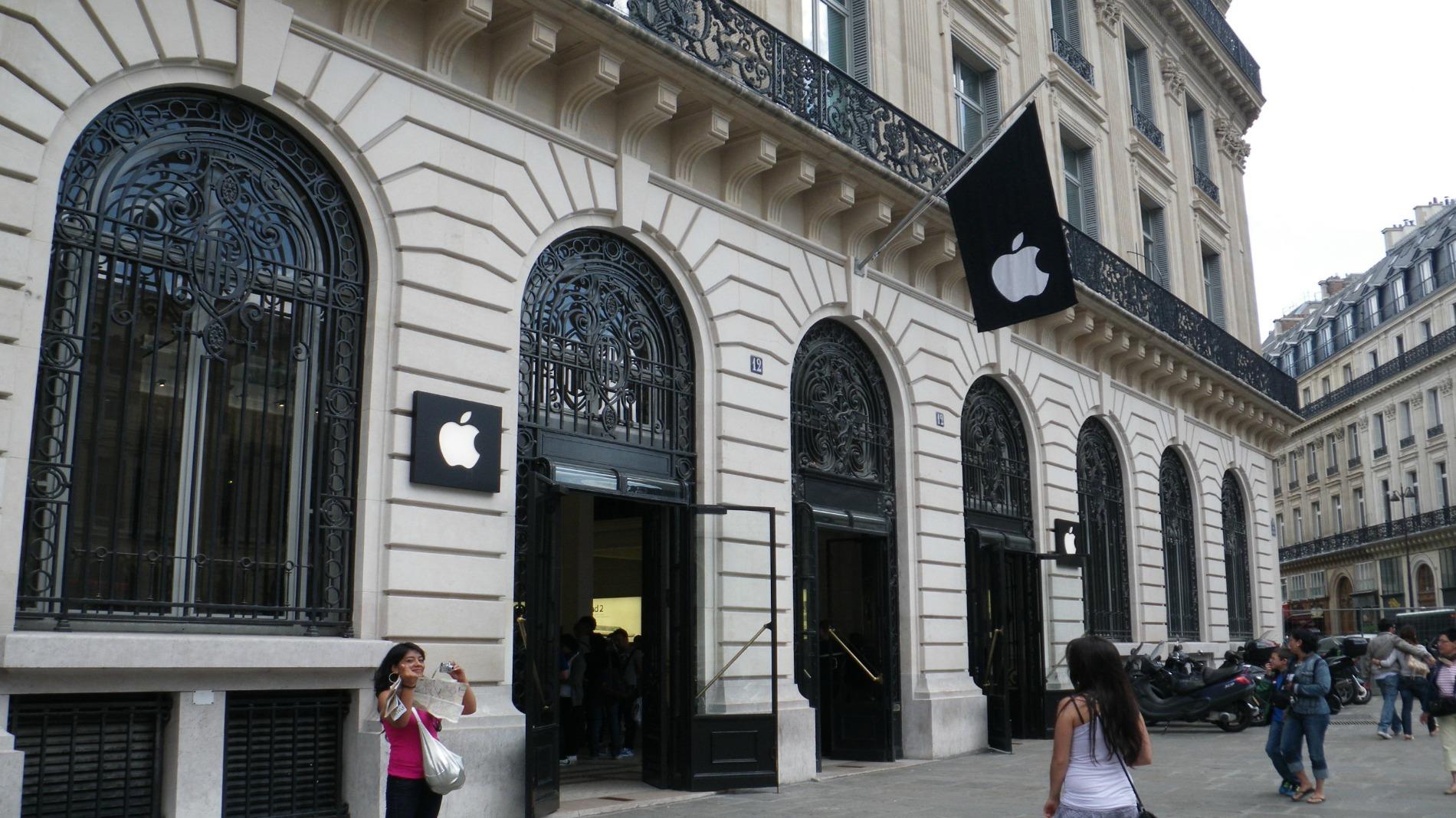 Apple откроет третий магазин Apple Store в Париже 3 декабря