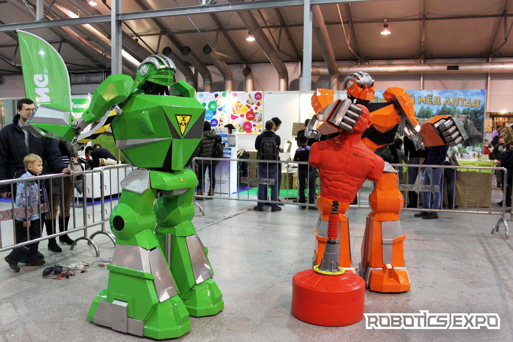Как прошла выставка Robotics Expo 2016